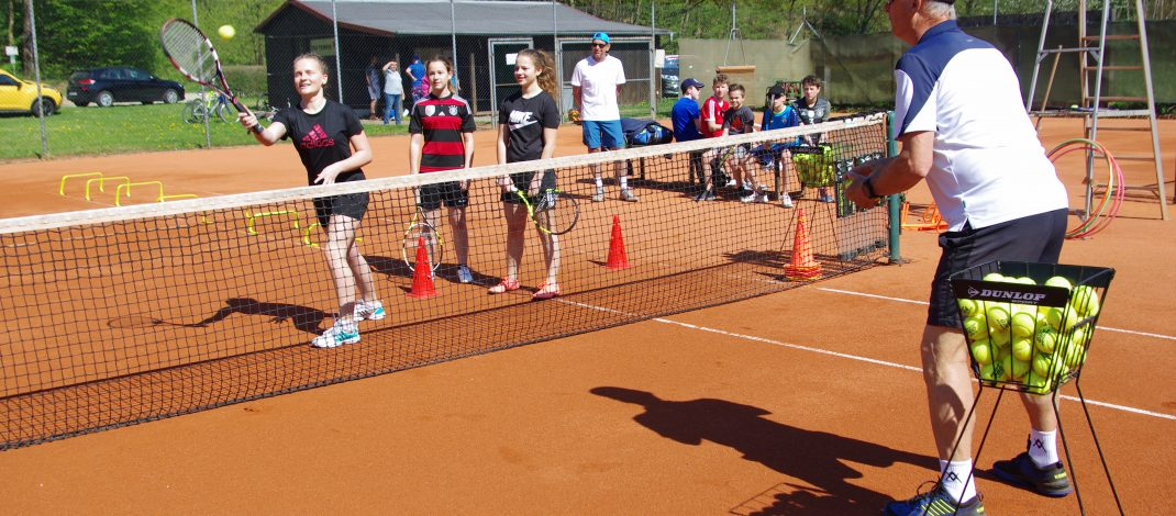 Tenniscamp mit Ex-Nationalspieler