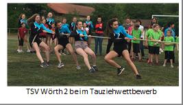 TSV Wörth 2 beim Tauziehwettbewerb